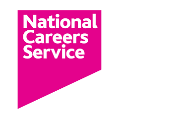 National careers service logo on Somerset Jobs